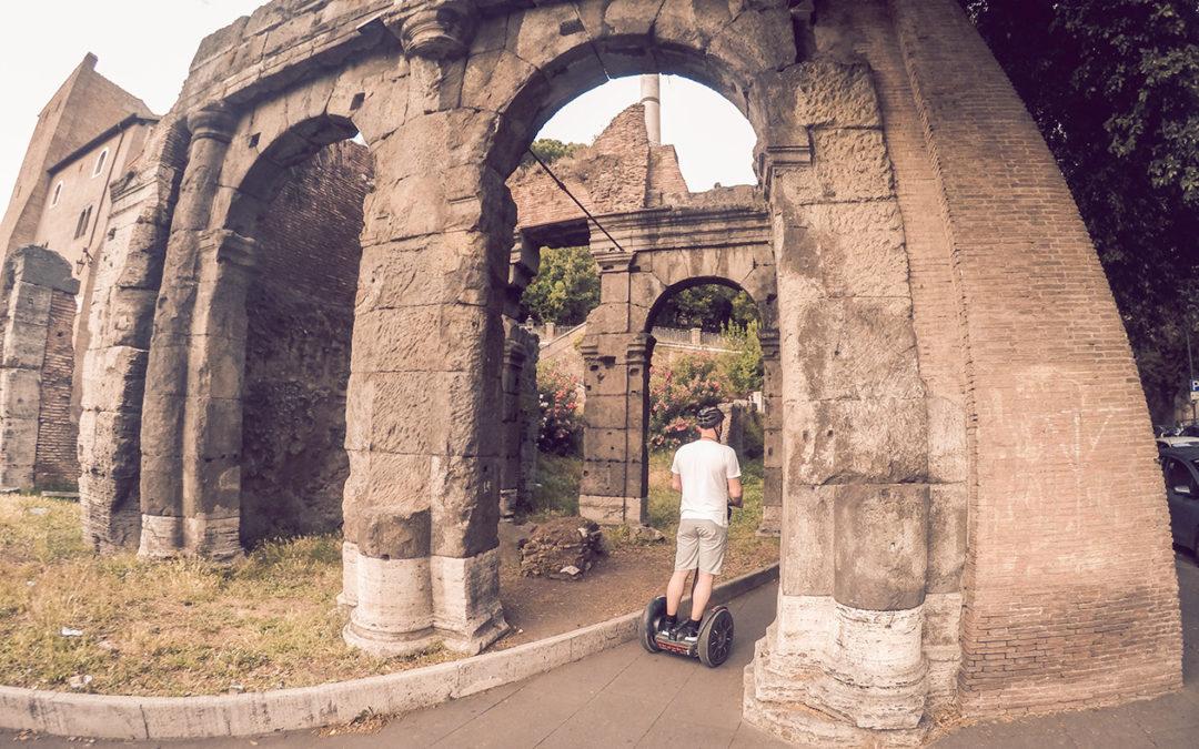 Segway Across Rome